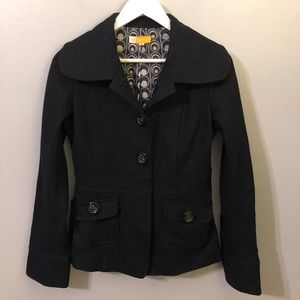 Tulle Black Jacket Size Small